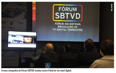 A nova campanha do Fórum SBTVD mostra como é fácil ter um sinal digital