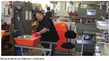 Fábrica da Kathrein na Alemanha