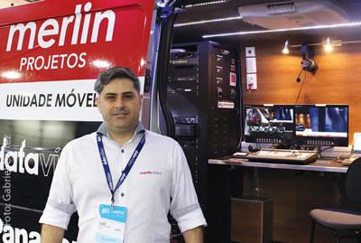 Kleber Bustamante, técnico da Merlin Projetos