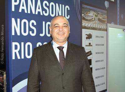 Sérgio Constantino, gerente comercial de projetores e broadcast da Panasonic do Brasil