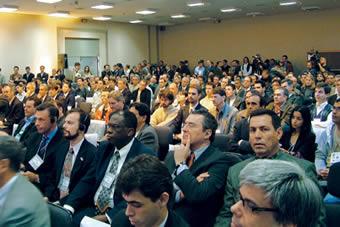 O grande interesse pela TV digital reuniu um número maior de participantes. O público superou as expectativas.