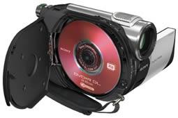 Linha DVD e Mini DV Handycam da Sony