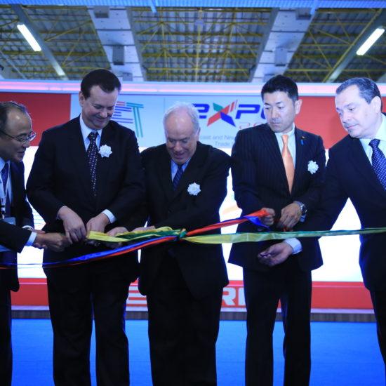 Cerimônia de abertura SET Expo 2016