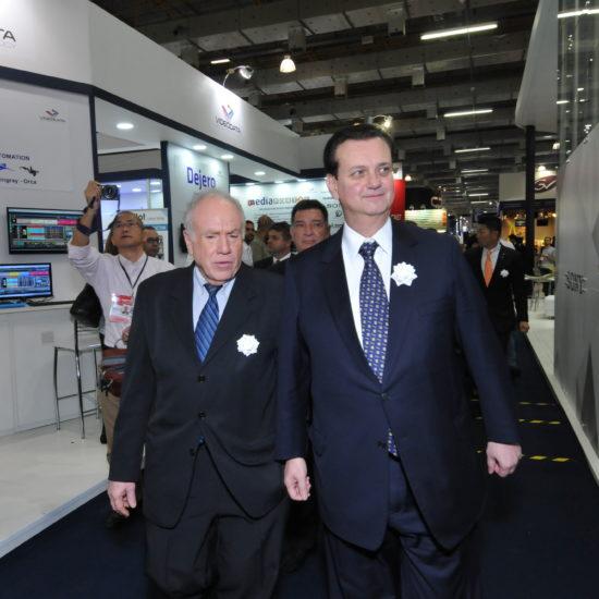 Cerimônia de abertura do SET Expo 2016