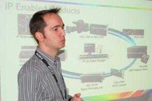 Erick Soares, da Sony, se apresenta para Grupo de IP na SET