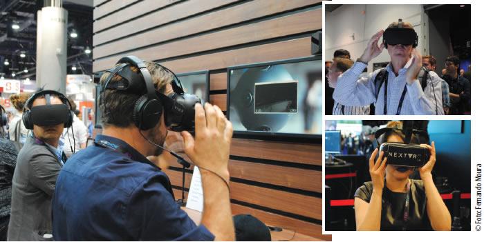 A Realidade Virtual (VR) tomou conta dos pavilhões da NAB