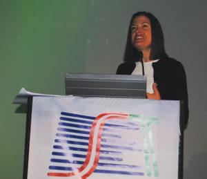 Sarah Foss (Imagine Communications), deu o toque feminino ao SET e TRINTAe trouxe um tema muito importante, como monetizar os conteúdos