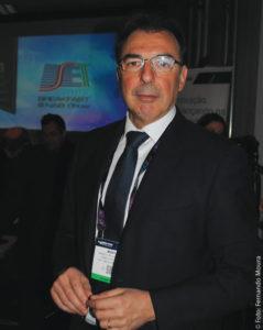 """Marco Pellegrinato, diretor de Pesquisa e Desenvolvimento da RTI – Mediaset Group (Itália), ministrou a palestra """"O desafio híbrido"""""""