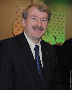 Robert Seidel, vice-presidente de Engenharia e Tecnologias Avançadas da CBS, a mais importante rede de televisão dos Estados Unidos, foi o grande destaque do Fórum de Tecnologia realizado no da 19 de abril de 2016 em Las Vegas