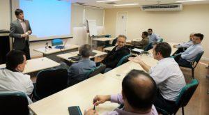 Segunda reunião de IP na SET tratou da tecnologia Aspen. Foto: Carla Bartz