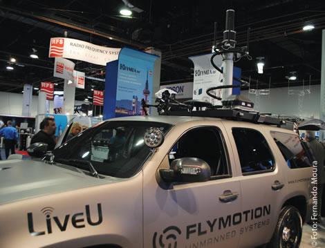 O LiveU Maverick, os transmissores de uplink 3G / 4G / LTE, e também o SNG, tornaram-se uma importante ferramenta de uma emissora