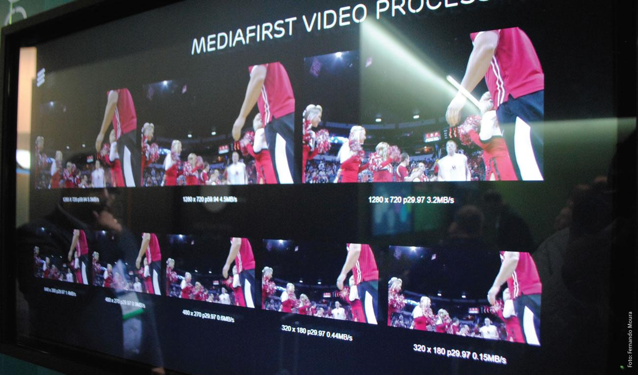 MediaFirst Video Processing uma solução da Ericsson para controlar todos os playout de vídeo que um produtor de conteúdos pode distribuir