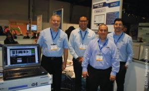 Equipe da Tecsys afirmou à reportagem que a feira teve bons resultados para a empresa