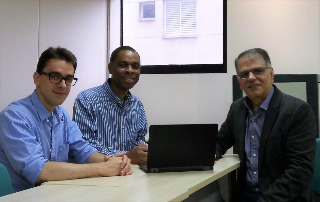 Fernando Nero , Edson Moura e Álvaro Almeida