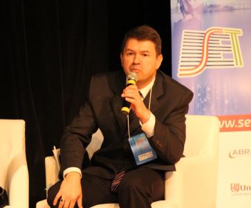 """Ivan Miranda (RPC/SET) durante a sessão: """"SET: Regulatórios – Desligamento 2018"""