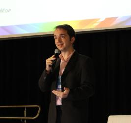 Erick Soares (SONY) apresentou questões relacionadas ao UHD, como o HFR, o HDR, o WCG