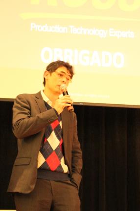Amaury Silva Filho, gerente de vendas da Ross Video