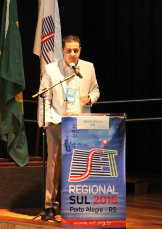 Bruno Pessoa, especialista de produtos da EVS
