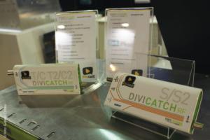 Solução DiveCath RF S/ S2, que realiza análise de sinal e gravação de sinal transmitido ao vivo, foi uma das inovações apresentadas no estande da YouCast