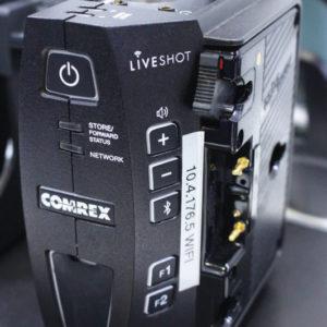 Codec IP de áudio e vídeo LiveShot, da Camrex, ideal para transmissões locais remotas via internet