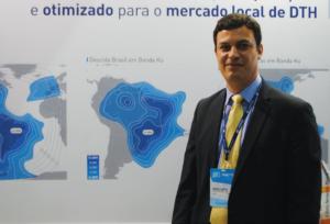 Rodrigo Campos, diretor-geral da Eutelsat no Brasil analisou positivamente a participação da empresa no SET EXPO 2016