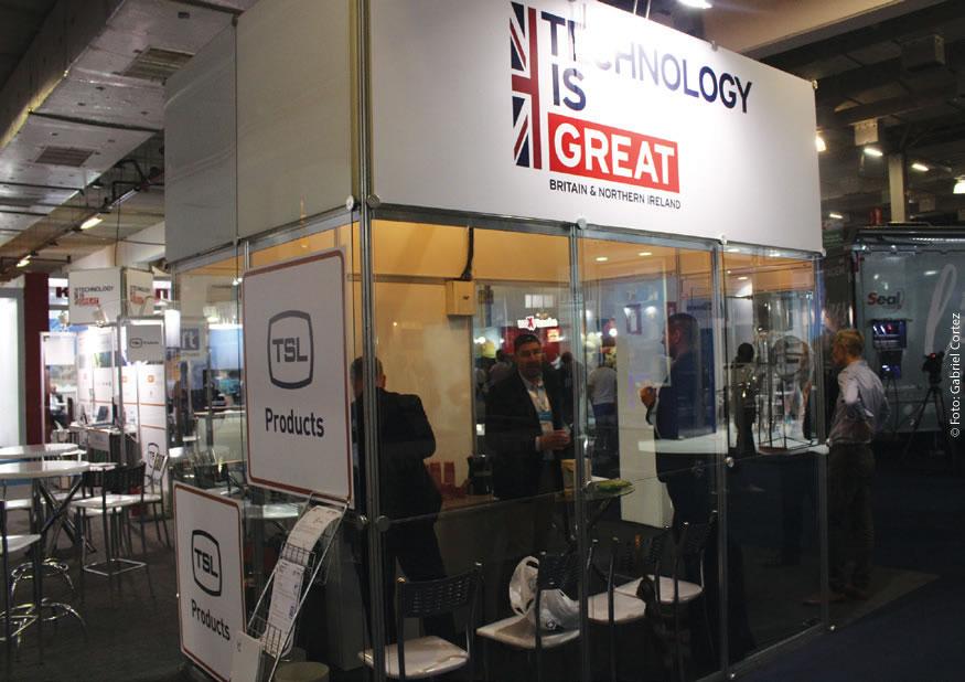 O sotaque britânico ecoou pelos corredores do SET EXPO mais uma vez