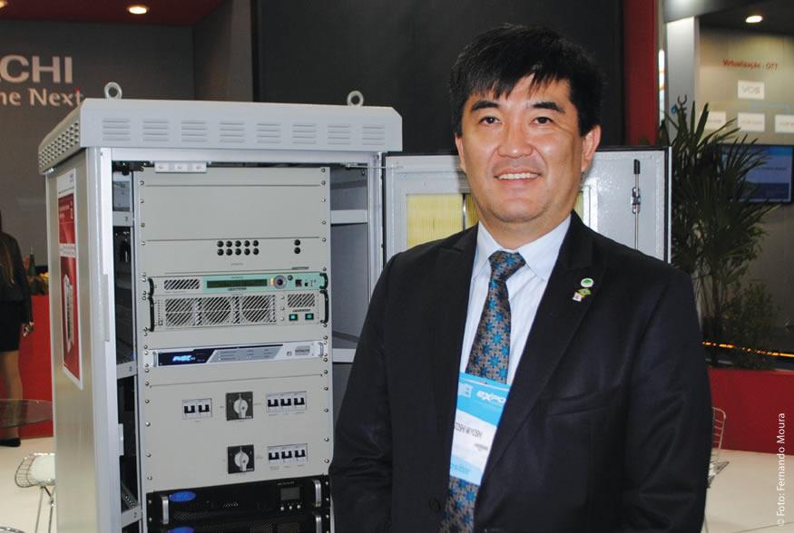 Yasutoshi Miyohi, diretor geral da empresa