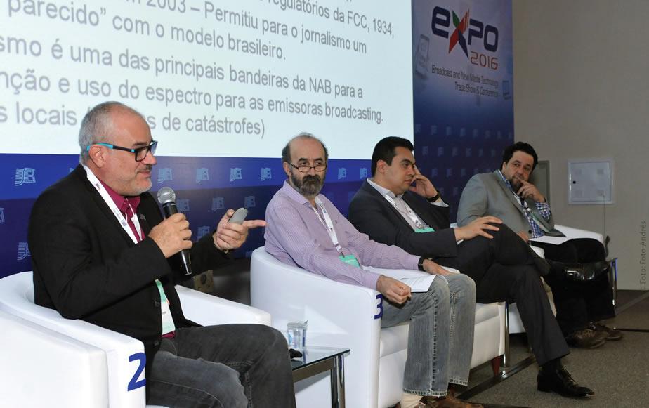 Professores de jornalismo trocam experiências com aqueles que dão o suporte e ferramentas para produção e distribuição de conteúdo no Congresso SET EXPO 2016