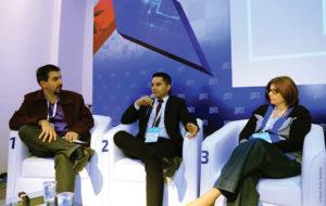 Palestra moderada por Rodrigo Arnaut debate desafios de gestão em engenharia e tecnologia da televisão