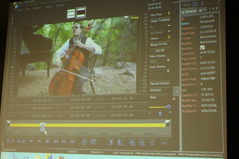 MAM Metus, da Snews, permite visualização e edição dos vídeos no próprio software