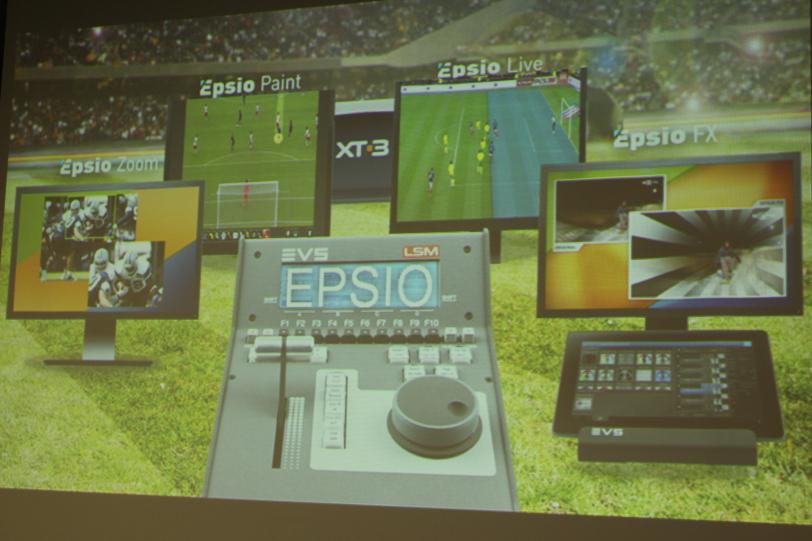 Linha de produtos Epsio, da EVS, oferece soluções de zoom de até 300 vezes entrando em 4K e saindo em HD