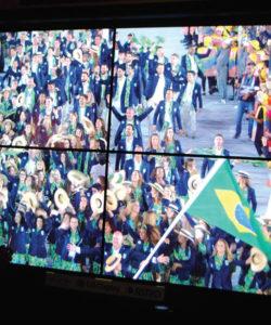 No Pavilhão do Futuro, a emissora pública japonesa NHK exibiu os conteúdos produzidos em 8K durante os Jogos Olímpicos Rio 2016