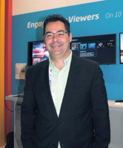 Edmar Moraes, Head of sales Latin America Media and Entertainment da Kaltura, afirmou à Revista da SET que a empresa busca se expandir a cada dia. Um dos desafios em Amsterdã foi o lançamento de uma nova aplicação OTT para os sistemas IOS e Android, além do Amazon Fire. O novo MediaGo possibilita que empresas de mídia criem serviços de OTT de forma rápida em qualquer dispositivo conectado