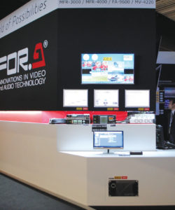 A For.a lançou no IBC 2016, o Mixer multiviewer MV-4200/4210/4220 para 4K/HD com 12G-SDI to 3G-SDI x 4