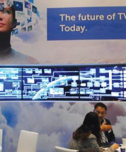 """A Imagine Communications aposta definitivamente nas soluções IP, por isso montou um estande dedicado à ideia de que o """"futuro da TV"""" passa por soluções IP"""