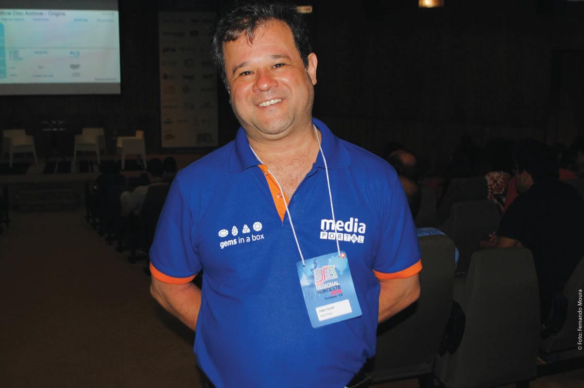 Fabio Tsuzuki (Media Portal Soluções) analisou a situação dos sistemas de storage