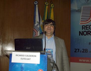 Ricardo Calderon, diretor de Vendas da Eutelsat