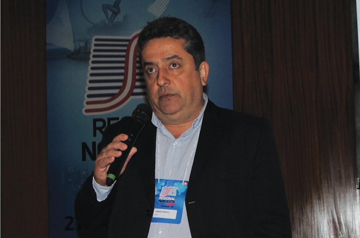 Armando Moraes (EVS) mostrou as principais soluções da companhia e explicou como ela está desenvolvendo produtos para acompanhar os novos padrões de consumo de conteúdos esportivos