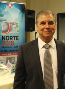 Nivelle Daou Júnior discursou na abertura do SET Norte 2016