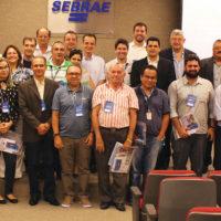 Os broadcasters que acompanharam as últimas palestras do primeiro encontro regional da SET © Foto: Gabriel Cortez