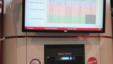 Contrariando as demais empresas, a Gates Air apresentou O  novo transmissor Maxiva ULXTE reforçando  a sua linha  de distribuição over-the-air.  O ULXTE possui amplificadores de potência  que aumentam a capacidade de potência de pico dos transmissores para todos tipos de onda ATSC  e OFDM