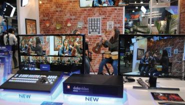 Como tudo não é IP e 4K, e a indústria tem diferentes nichos de mercado, a Datavideo avançou com o lançamento do SE-2850, um switcher de produção 8/12 input de vídeo HD com sistema de grafismo incluído
