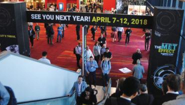 A próxima edição da NAB  se realizará de 7 a 12 de abril  de 2018 no Las Vegas Convention Center, em Nevada, Estados Unidos
