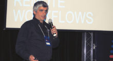 Diego Buenaño (Editshare) afirmou que cada vez mais a necessidade de colaboração remota é essencial em fluxos de produção