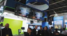 A companhia espanhola Brainstorm apresentou no IBC o Neuron, um sistema integrado compatível com MOS que permite uma integração gráfica completa com todo o fluxo de trabalho da emissora