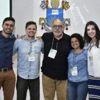 Orlando Soares Faria, Carlos Henriques Souto, Elisângela Nascimento, Carlos Costa e Rafaela Caetano